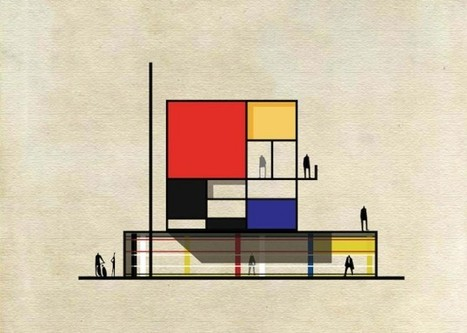 Federico Babina Reinterprets Iconic Artworks into Architectural Forms | Dans l'actu | Doc' ESTP | Scoop.it