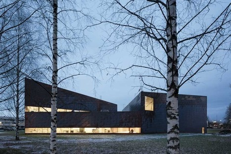 [Seinäjoki, Finlandia] JKMM: Biblioteca Seinäjoki | The Architecture of the City | Scoop.it