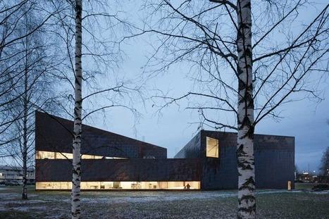 [Seinäjoki, Finlandia] JKMM: Biblioteca Seinäjoki | The Architecture of the City | Scoop.it