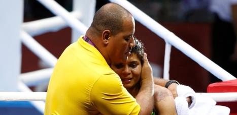 Adriana Araújo perde de algoz russa, fica com bronze e dá 100ª medalha ao Brasil | esportes | Scoop.it