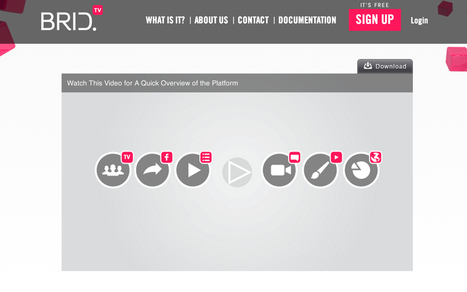 Brid TV - Free HTML5 player and Video Cloud Platform | Online Video Provider (OVP) List | Scoop.it
