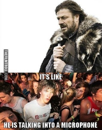 Microphone – Winter is coming | The Filmtroll | Scoop.it
