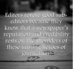Why we should salute the unsung heroes of journalism - Easy Media | Easy Media | Scoop.it