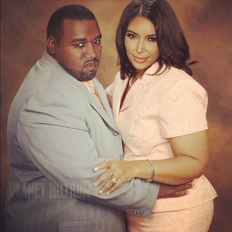 A Different Perspective (Kim Kardashian and Kanye West) | Fine Girl Operating Guide | Scoop.it