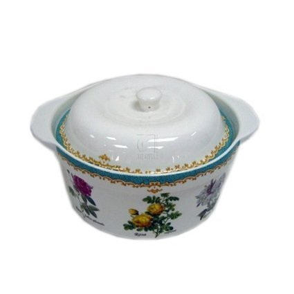 Reviews ENGLISH ROSE 2 QUARTT COVERED CASSEROLE | Best Cookware Tools Review | Scoop.it