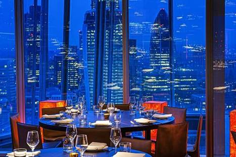 Food with a view: Londoners get a taste for skyscraper dining - Evening Standard | London restaurants | Scoop.it