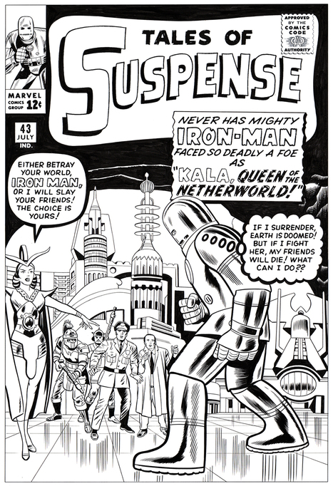 H&aring;vard Glenne &mdash; classiccoverrecreations:<br/><br/> New commission:... | Jack &quot;King&quot; Kirby | Scoop.it