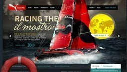 25 Inspiring Website Designs | From up North | Web Design | Scoop.it