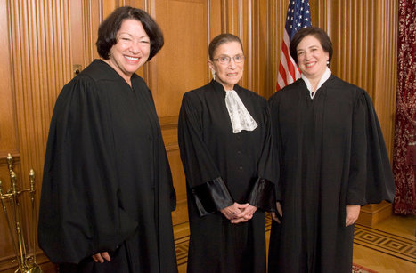 Three Justices Bound by Beliefs, Not Just Gender | Coffee Party Feminists | Scoop.it