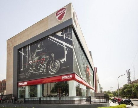 Ducati Store in Delhi is the largest in the entire world! | Ductalk Ducati News | Scoop.it