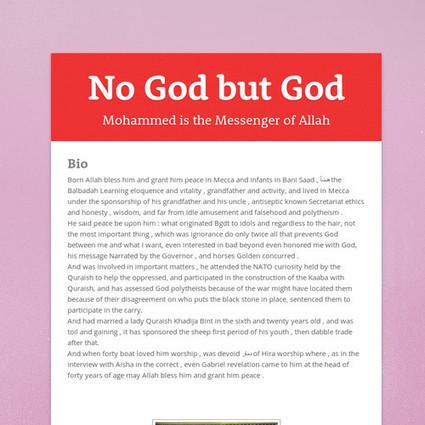 No God but God | Chromium | Scoop.it