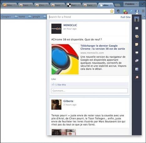 Les meilleures extensions de Google Chrome pour Facebook   Time to Learn   Scoop.it