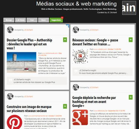 5 Outils pour vous Lancer dans la Curation de Contenus Web   Scoop.it on the Web (FR)   Scoop.it