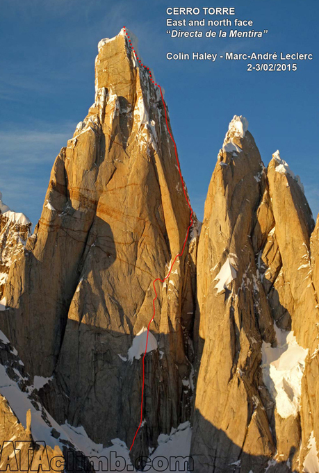 North Face of Cerro Torre Gets First Integral Ascent | Climbing & Mountain News for Mountain Leaders | Sail and climb in the Arctic | Scoop.it