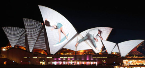 #sydney (via URBANSCREEN (Germany) - Lighting the... | RMG Art & Design Shoebox | timms brand design | Scoop.it