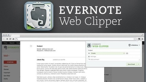 La extensión de Chrome de Evernote ahora permite guardar los correos de Gmail | Addict to technology | Scoop.it