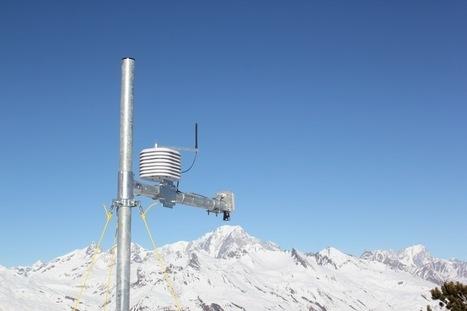 Une station connectée pour mesurer l'enneigement   made in isere - 7 en 38   Scoop.it