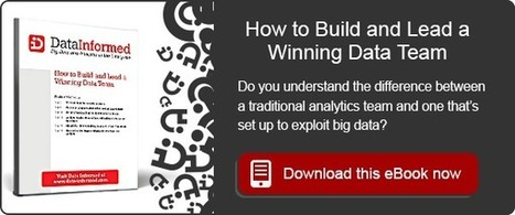 How to Turn your Data into a New Product | Data Analytics | Scoop.it