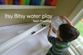 Itsy bitsy spider water play | Teach Preschool | Scoop.it