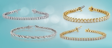 Check newest bracelets like Tennis bracelet, diamonds bracelets, and gold bracelet   myglitzjewels   Scoop.it