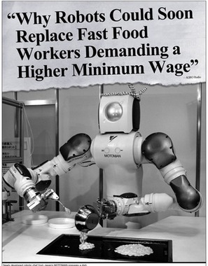 Bientôt des robots dans les cuisines de McDo ? | Libertés Numériques | Scoop.it