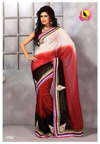 Party wear sarees | Indian Women Clothing | Scoop.it