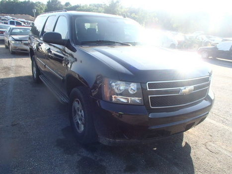 Salvage 2008 black Chevrolet C1500 Subu with VIN 3GNFC16018G174141 on auction by Monday, November 10, 2014   AutoBidMaster   cars   Scoop.it