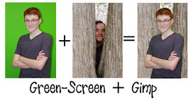 Diary of a Techie Chick: Removing a Green-Screen as Easy as 1, 2, 3 with Gimp | Green-Screen Projects | Scoop.it