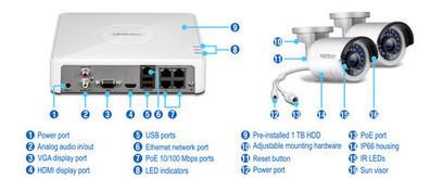 4-Channel HD PoE NVR Kit   Dueltek Distribution   Dueltek Distribution   Scoop.it