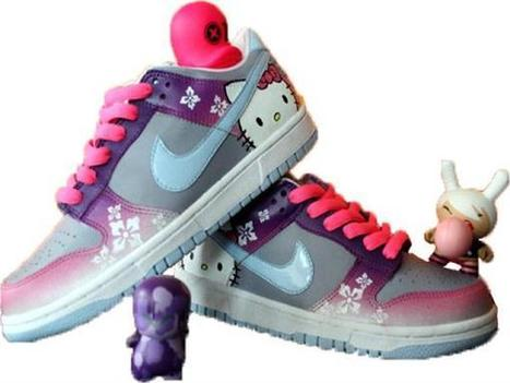 Nike Shoes Hello Kitty Low Pink Purple Grey [hello-kitty-shoes-1016] - $80.99 : DC Comic Dunks ,Marvel Comic Dunks, Superhero Nike Dunks Shoes ,Superman ,Batman ,Spiderman,Captain America Nikes | Hello Kitty Nike Dunks | Scoop.it