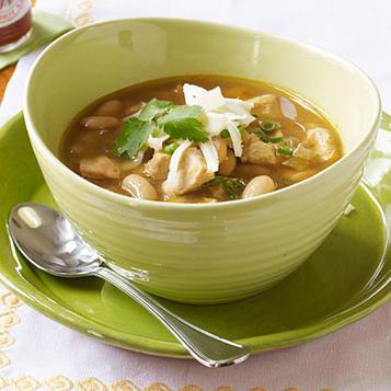 30AEATS » Warming White Bean Chicken Chili for Halloween | 4-Hour Body Bean Cookbook | Scoop.it