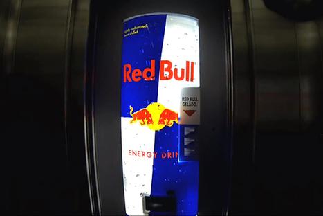 Quand Red Bull s'approprie un ascenseur le temps d'une opération marketing ! | red bull | Scoop.it