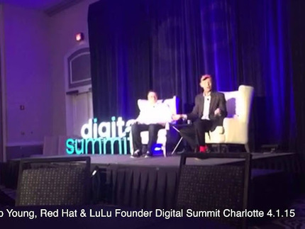 Inspirational Startups & Publishing Talk w/ @RedHatSoftware & @LuLudotcom Founder Bob Young #DSCLT15 | Startup Revolution | Scoop.it