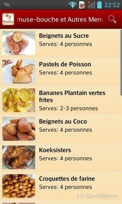 Recettes Africaines | Android-Software.fr | cuisine du monde | Scoop.it
