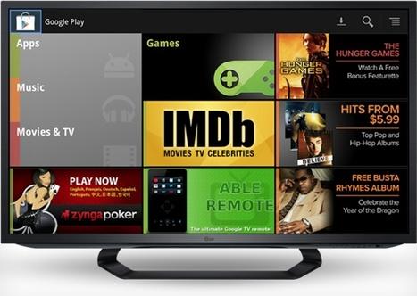 Google TV brings music and movies to Europe on November 13th | Bulk Update | Scoop.it