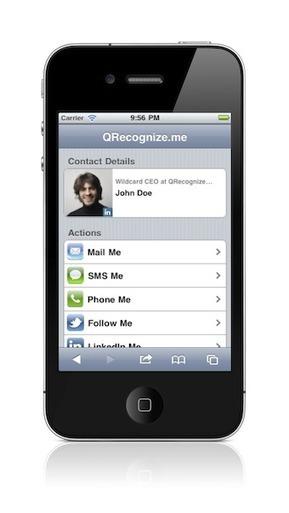 QRecognize.me | Su tarjetero de Visita en la Nube | Recursos, aplicaciones TIC, y más | Scoop.it