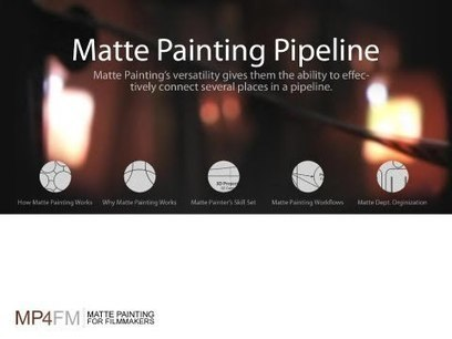 Matte Painting Pipeline | 3D animation transmedia | Scoop.it