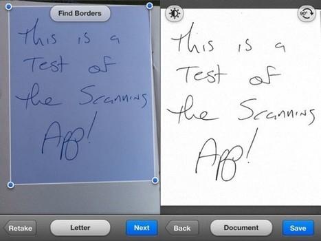 ¿Necesitas escanear documentos? Tres aplicaciones para hacerlo en iOS | Learn iOS | Scoop.it