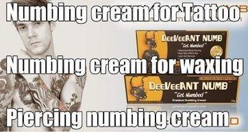 Tattoo Numbing cream | Wax & laser Numb Cream | Scoop.it