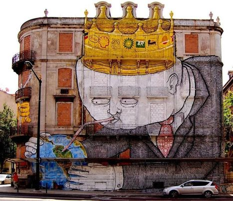 20+ Powerful Street Art Pieces That Tell The Uncomfortable Truth | The ART of Storytelling | Scoop.it