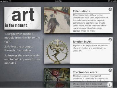 IL Y A 2 ANS...L'Art Institute de Chicago co-crée une application iPad destinée aux malades d'Alzheimer | L'actu culturelle | Scoop.it