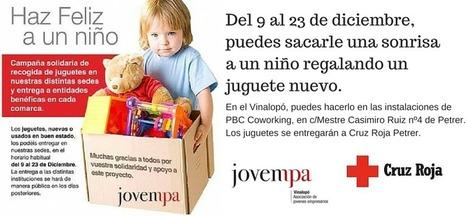 Recogida de juguetes Jovempa Vinalopó | PBC Coworking | Actividad Jovempa Vinalopó | Scoop.it