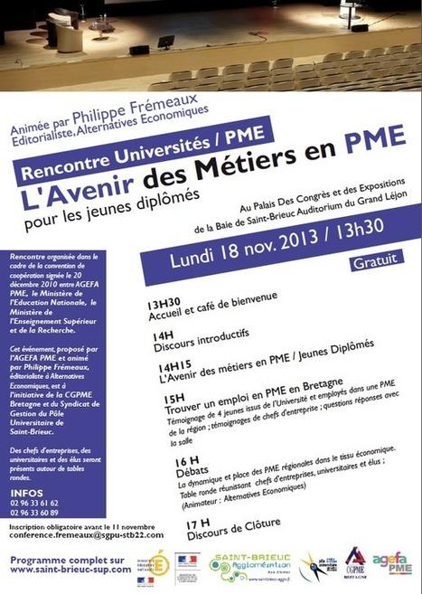 Etudes supérieures à Saint-Brieuc - Etudes supérieures à Saint-Brieuc | Nouvelles économiques TPE PME | Scoop.it
