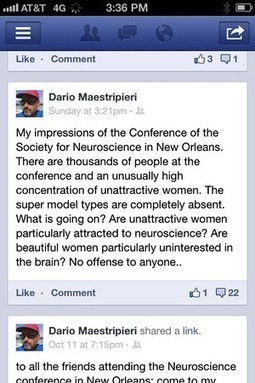 Ugly Women Attracted to Neuroscience - No More Than Chauvinistic Men | E-Qualities | Scoop.it