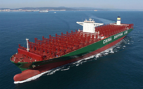 A quarter of a mile long and heading for the UK - the world's largest ship - Telegraph | #ASMIC | Scoop.it
