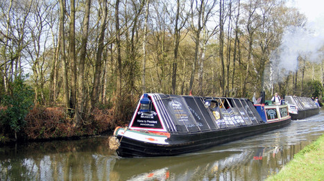 People urged to take canal walk after Christmas - Burton Mail | Canal Vines | Scoop.it
