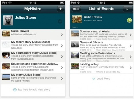 MyHistro - Create Location-Based Timelines On Your iOS Device   Richard Byrne   Into the Driver's Seat   Scoop.it