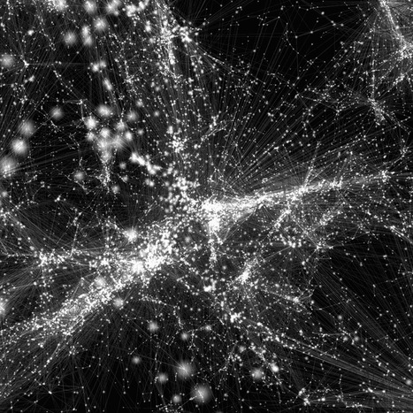 The Beautiful Complexity of the Cosmic Web | Knowmads, Infocology of the future | Scoop.it