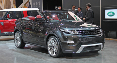 Range Rover Evoque Convertible not headed for production | RR Evoque | Scoop.it