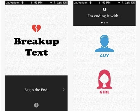 Progress! An app that sends a breakup text for you | Personal Branding and Professional networks - @TOOLS_BOX_INC @TOOLS_BOX_EUR @TOOLS_BOX_DEV @TOOLS_BOX_FR @TOOLS_BOX_FR @P_TREBAUL @Best_OfTweets | Scoop.it